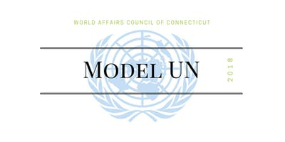 World Affairs Council Of Ct Model United Nations 2018 World